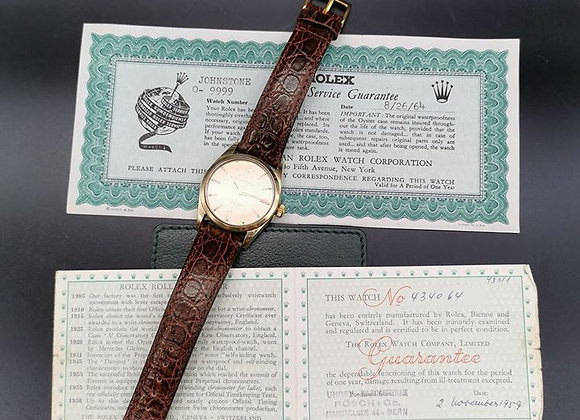 Rolex Oyster Perpetual gold capped. Ref: 6634 - MTG1x797