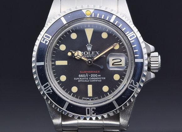"Rolex vintage ""Red Sub"" 1680, 3.5 mil, B/P - MTH1x902"