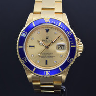 Rolex Submariner Gold 16808, 9.5 mil series, watch only