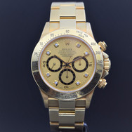 "Rolex Zenith Daytona gold 16528 ""Inverted 6"", N series, B/P"