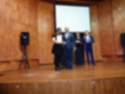Вручение премии имени Г.А. Головатого