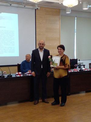 Лауреат  межрегионального литературного конкурса