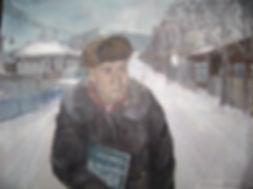 Борис Макаров. Портрет работы акшинской художницы Татьяны Судьиной