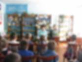 Л.П. Панасюк в детской библиотеке