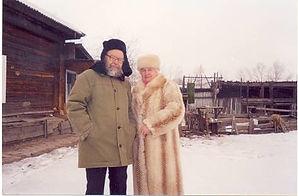 Кобисский Виктор Трофимович и его жена