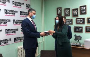 Встреча молодых литераторов с губернатором Забайкальского края
