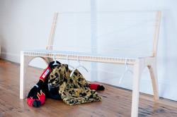 Bad Dreams Bench, Emily Wobb (installation view) 1