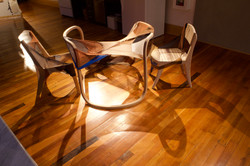 Infinity Table and Nylon Patchwork