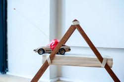 Tumored Nissan, Emily Wobb (installation view) 1
