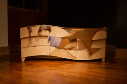 Wave Dresser & Nylon Patchwork