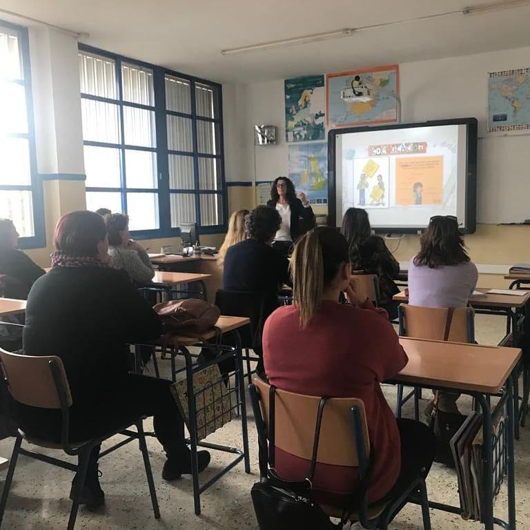 Charla familias y profesorado CEIP Nuestra Señora del Rosario (Guazamara)