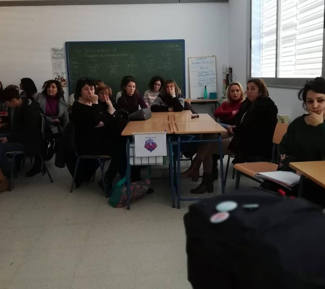Charla a familias y profesorado del CEIP María Cacho Castrillo (Turre