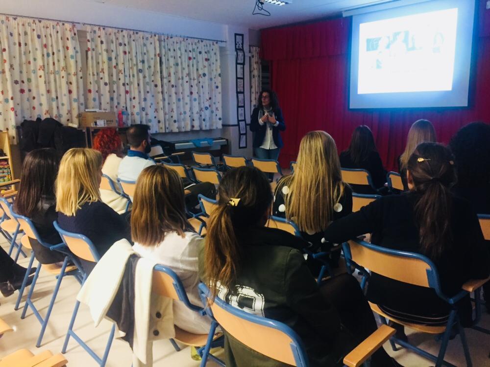 Charla  familias y profesorado del CEIP Sagrado Corazón (Tíjola)