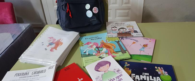 Algunos libros de lectura mochila viajera