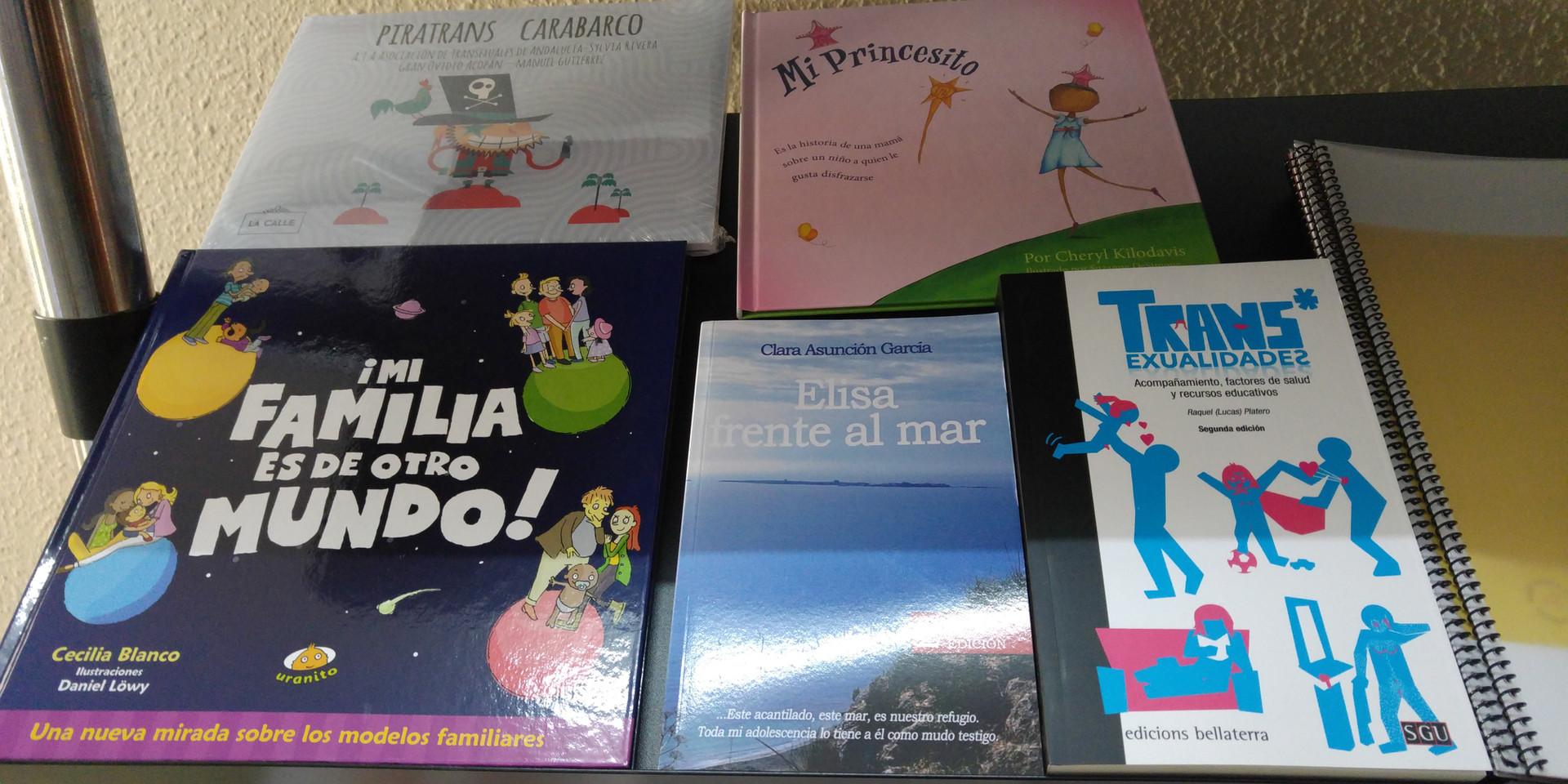 Algunos libros de la mochila viajera