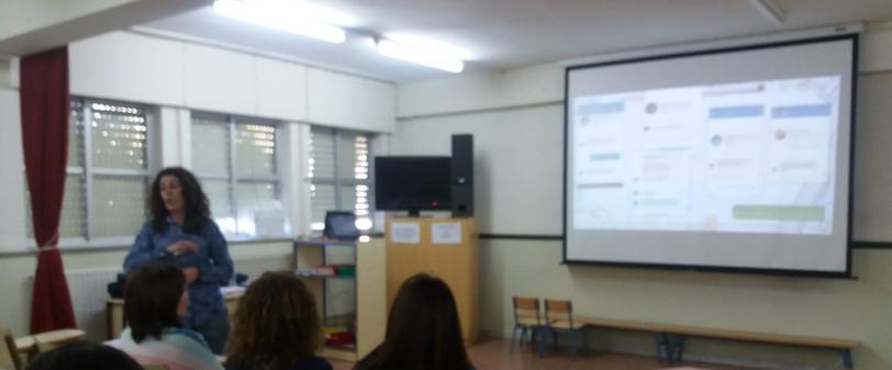 Charla a profesorado y familias del CEIP Nuestra Señora del Rosario (Macael)