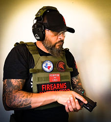 Fort Worth LTC Instructor Sean Rigg from Stay Vigilant Texas LTC