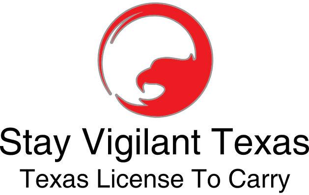 Stay Vigilant Texas LTC Logo
