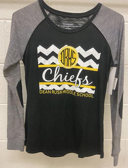 chiefs chevron long sleeve t-shirt.