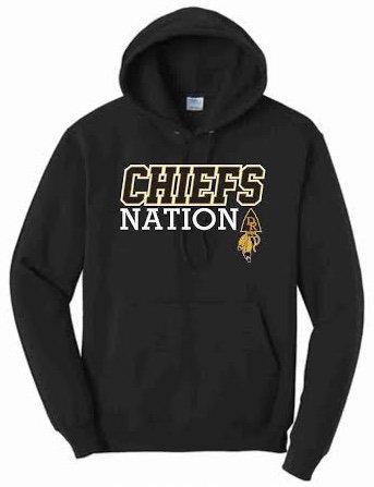 chiefs nation black hoodie.