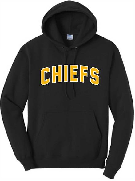 Chiefs Black Hoodie