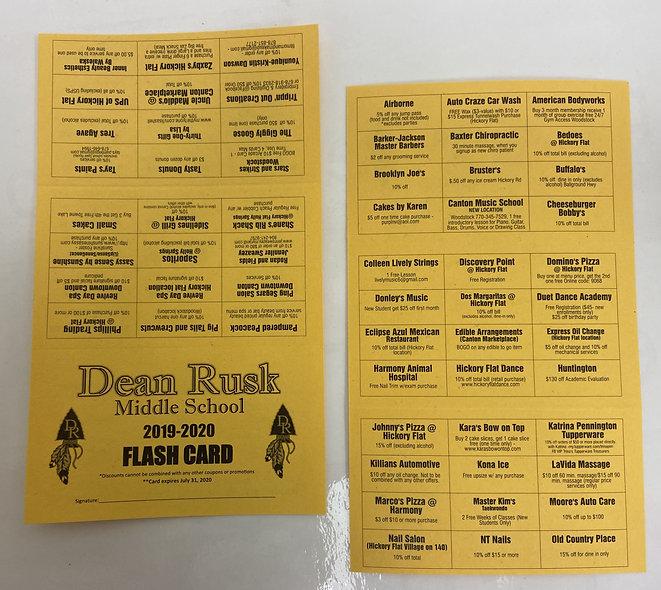 dean rusk flash card.