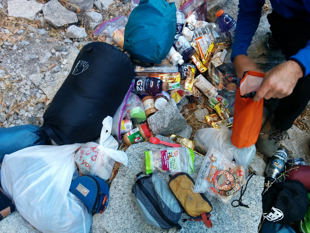 Food, Water, Beverage that goes into the Haulbag.
