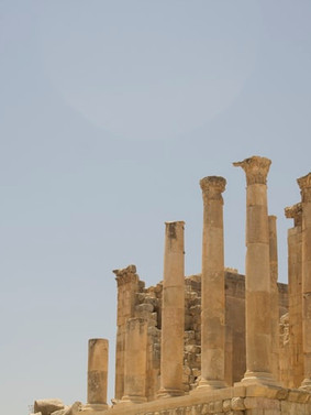 Roman Ruines of Jaresh.