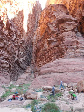 The deep Canyons.