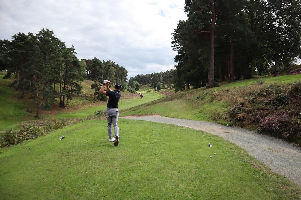 PTL Golf   HindHead GC Finish