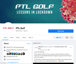 PTL Golf .... Now available on Facebook!!!