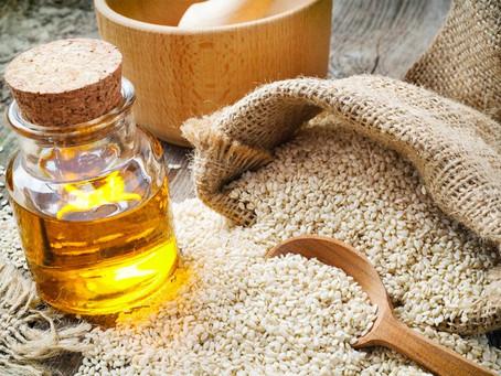 Le massage sublimé par l'huile de sésame bio