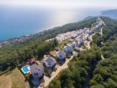 Панорама вида на море - Лазурный берег - Инвестиции в недвижимость Сочи и Олимпийского парка