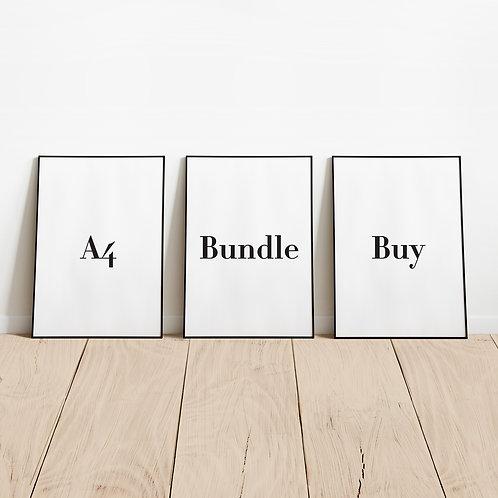 A4 Bundle