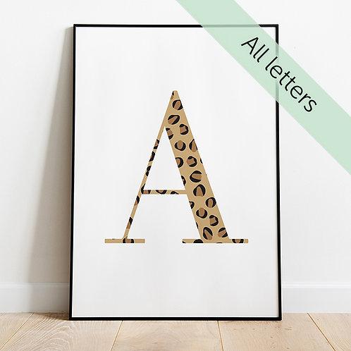 Leopard Letter