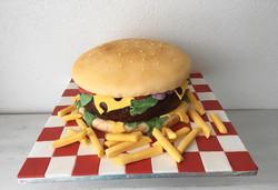 Burger Cake