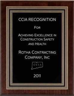Safety Award 2011