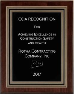 Safety Award 2017