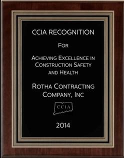 Safety Award 2014