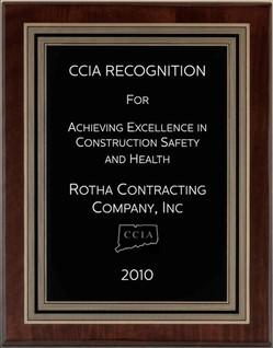 Safety Award 2010