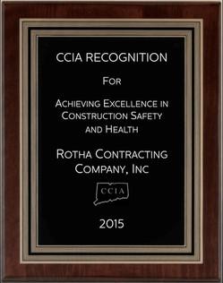 Safety Award 2015