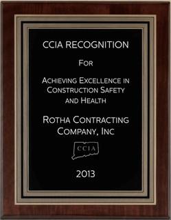 Safety Award 2013