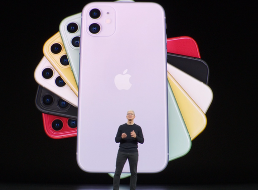 The All new iPhone 11
