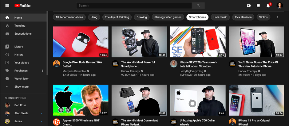 YouTube Introduces New Homepage Feature That Doesn't Suck