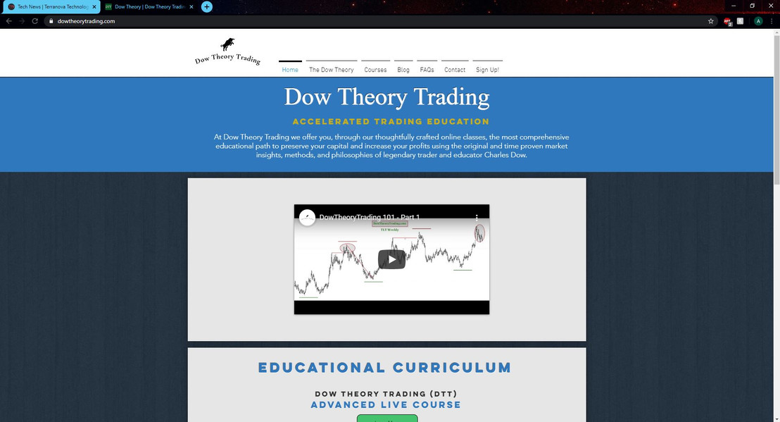 Dow Theory Trading