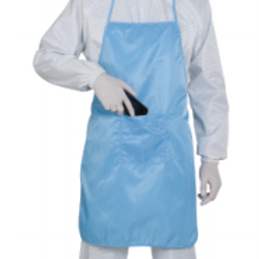Cleanroom Apron(S/blue)_KM
