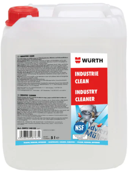 CLEANER INDUSTRY CLEAN_Wurth 5Liter