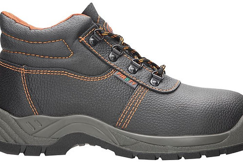 safety ankle boots with steel toe