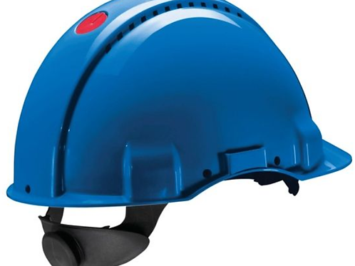 Protective helmet without earphones and grille_3M