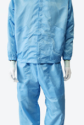 cleanroom Jacket & Pants, Sky Blue